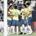 Brasil vence Arábia Saudita em amistoso sonolento