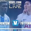 Brighton vs Tottenham en vivo y en directo en Premier League 2018