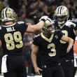 New Orleans Saints edge the Cleveland Browns 21-18