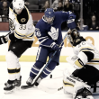 Toronto Maple Leafs continue playoff push icing the Boston Bruins, 4-2
