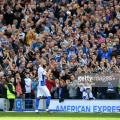 Brighton skipper being applauded off by the Brighton fans in the final game of his career against Manchester City. Image courtesy of Mike Hewitt on Getty Images.