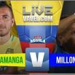 Resultado Atlético Bucaramanga vs Millonarios en VIVO por Liga Águila 2017 (1-3)