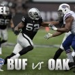 Oakland Raiders vs Buffalo Bills: Raiders aim to stay atop the AFC West