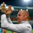 Dyche proud of depleted Burnley following draw with Istanbul Basaksehir