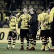 """Stöger lamenta lances perdidos em novo empate do Dortmund: """"Tivemos chances mais claras"""""""