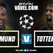 Em busca de um milagre: Borussia Dortmund tenta se salvar na Champions diante do Tottenham