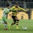 Sem Aubameyang, Borussia Dortmund e Wolfsburg empatam em jogo fraco