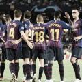 Los futbolistas del Barça, ante un complicado calendario. FOTO: Noelia Deniz