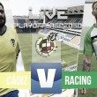 El Cádiz mete en crisis al Racing de Santander