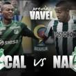 Deportivo Cali - Nacional: duelo de verdes por un título