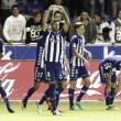El Deportivo Alavés castiga los errores nazaríes y logra un nuevo triunfo