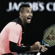 Australian Open: Nick Kyrgios beats Jo-Wilfried Tsonga in entertaining battle