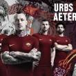 Usando cores oficiais da Cidade Eterna, Roma revela novo uniforme principal