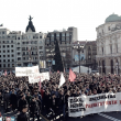 Tercera huelga estudiantil con pocos incidentes