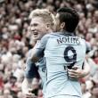"""""""Special"""" Guardiola vence """"unhappy"""" Mourinho: De Bruyne resolve derbi de Manchester"""