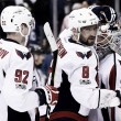 Washington Capitals hang on to level series