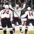 Washington Capitals advance to round two with historic OT victory