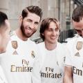 El Real Madrid presenta su nueva camiseta para la temporada 2019-2020