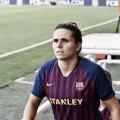 Andrea Pereira durante un partido | Fotografía: Tomás Rubia (VAVEL)
