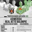 El Betis jugará en Mérida el próximo jueves un amistoso