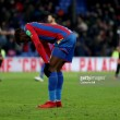 Wilfried Zaha to miss weekend clash with Everton as Hodgson struggles to put return date on knee injury