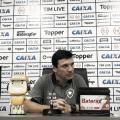 """Diante de tropeço e protestos da torcida, Zé Ricardo reforça: """"Entrosamento vem com o tempo"""""""