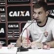 """André Lima sobre retorno do Vitória ao Brasileirão após Copa:""""Reiniciar com pé direito"""""""