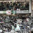 La afición animó al Córdoba CF pese al mal tiempo