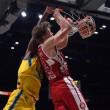 Legabasket Serie A, Milano ringrazia Kuzminskas e torna in vetta alla classifica