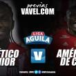 Junior vs América: un duelo por la punta de la Liga Águila