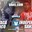 Previa Boyacá Chicó vs Santa Fe: duelo de necesitados