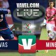 Resultado Chivas vs Mineros de Zacatecas en Copa MX 2015 (2-0)