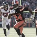 Nick Chubb se escapa para conseguir el touchdown (Imagen: Cleveland Browns)