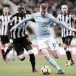 Depois de primeira derrota na competição, Manchester City recebe o Newcastle United
