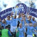 Brighton 1-4 Manchester City: Citizens wrap up Premier League title in style