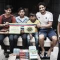 Caridade: Cruzeiro faz doação a entidade filantrópica na Venezuela
