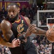 NBA - Cleveland ok, il solito LeBron James spazza via anche i Los Angeles Lakers