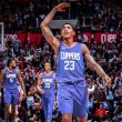 NBA - Williams scuote i Clippers allo scadere, Thunder e Spurs allo scadere