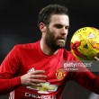 Manchester United targeting domestic double, says Juan Mata