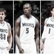 Preocupa la segunda unidad de los Wolves