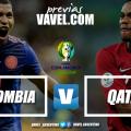 Previa Colombia - Qatar: uno busca ser líder, el otro dar el batacazo