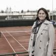 Conchita Martínez visita las instalaciones de Club Tennis Lleida