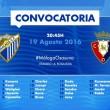 Juande Ramos ya ha dado su primera convocatoria para jugar ante Osasuna