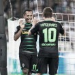 Borussia Mönchengladbach (9) 6-1 (2) BSC Young Boys: Gladbach cruise into the Champions League