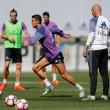 Cristiano y Bale vuelven a entrenar con el grupo