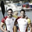 Kayak de oro con Craviotto y Toro