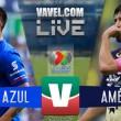 Cruz Azul vs América en vivo online en Liga MX 2017 (0-0)