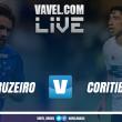 Jogo Cruzeiro x Coritiba AO VIVO online no Campeonato Brasileiro (0-0)