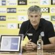 """Quique Setién: """"Zidane estará más preocupado de Las Palmas que los periodistas"""""""