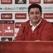 """Rui Vitória: """"Nuestro objetivo es ganar en el Estadio Restelo"""""""